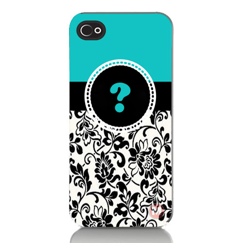 Write Name Alphabet on Floral Designer Mobile Case