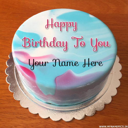 Wish You a Very Happy Birthday Special Cake With Name