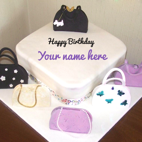 Write Name on Birthday Cake For Sister Online Free