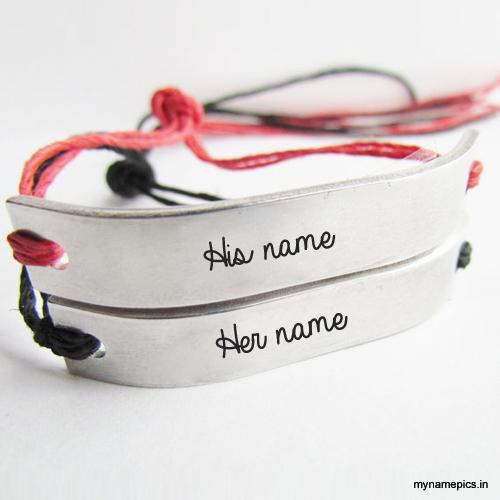 How to write names on friendship bracelets
