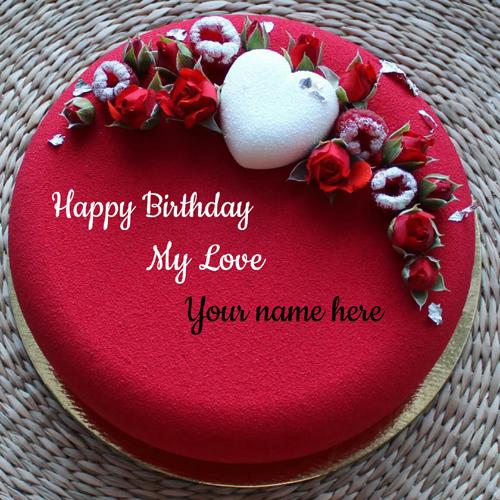 Happy Birthday Love Images Cake