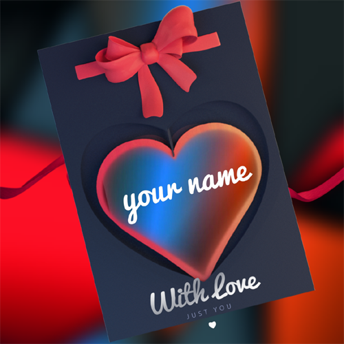 Beautiful Love Heart Profile Pics With Your Name