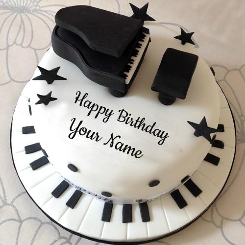 Free Musical Happy Birthday Cake