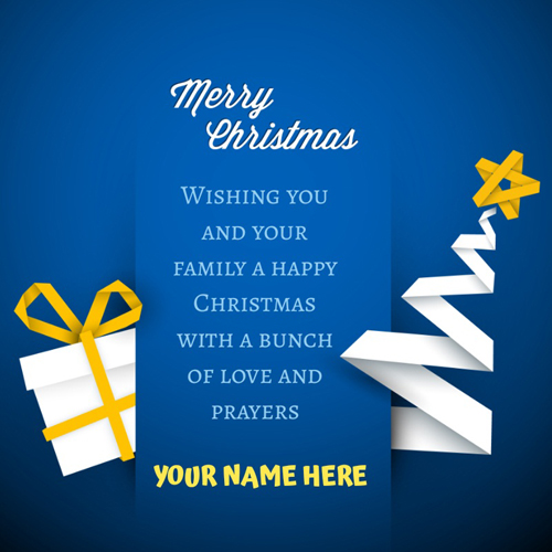 Joyful Christmas Wishes Quote DP Pics With Friend Name