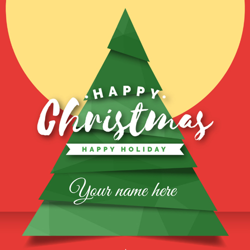 Have a Joyful Christmas Day Whatsapp Greeting With Name