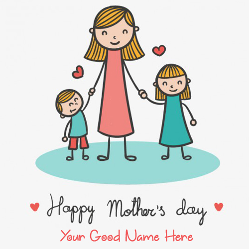 Cute Drawing For Mothers Day Profile Pics With Name