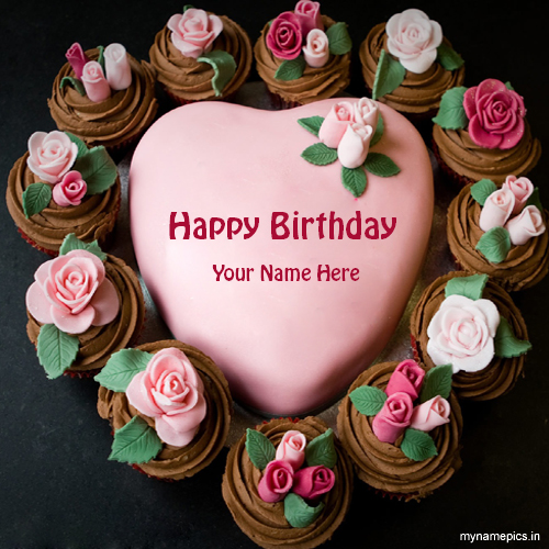Write name on birthday cake online for free