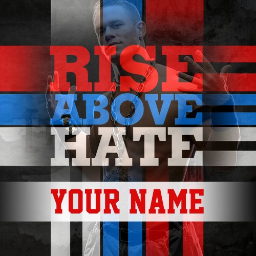 Write your name on rise above hate boys pics