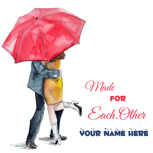 Made For Eachother Love Couple Profile Pics With Name