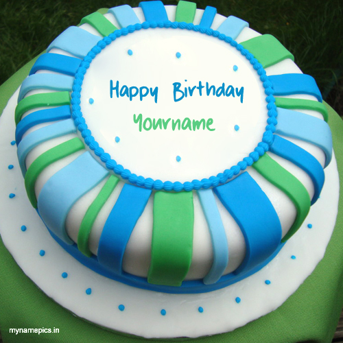 Write name on lovely birthday cake pics