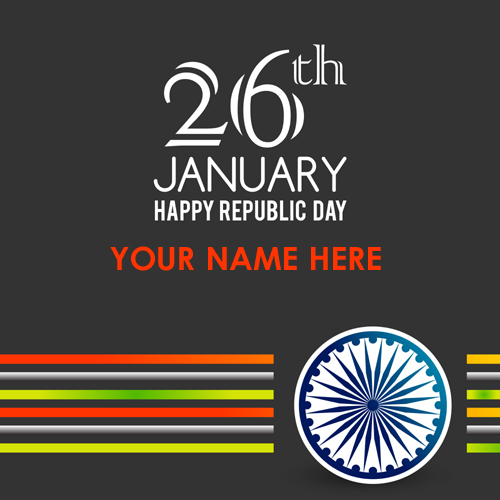 Indian Republic Day 26th January Profile Pics With Name