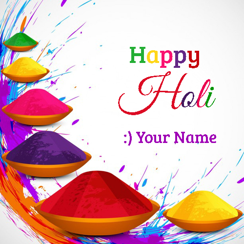 Have A Colorful Holi Whatsapp Profile Pics With Name