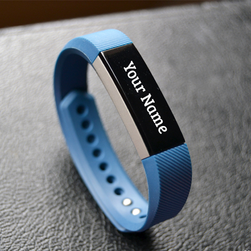 Write Name on Blue Stylish Smart Watch Profile Picture