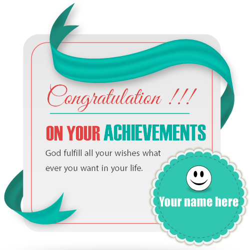 Write name on congratulations greeting card pix m4hsunfo