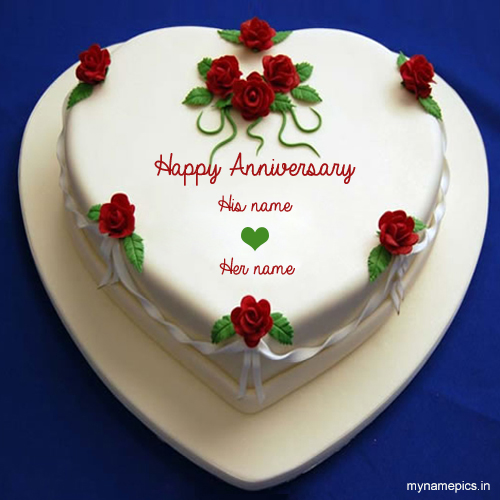 write your name on heart wedding anniversary wish onlin
