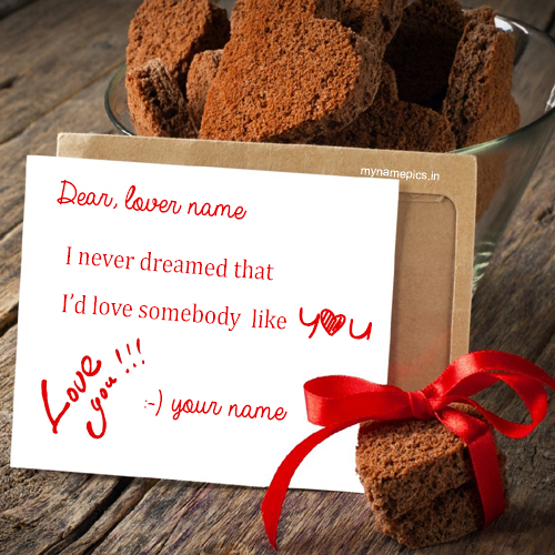 Write your name on Love heart Note profile picture